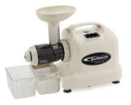 "Samson ""Advanced""  GB9003 Multi-Purpose Wheatgrass Juicer~IVORY~160W, Pu... - $259.00"