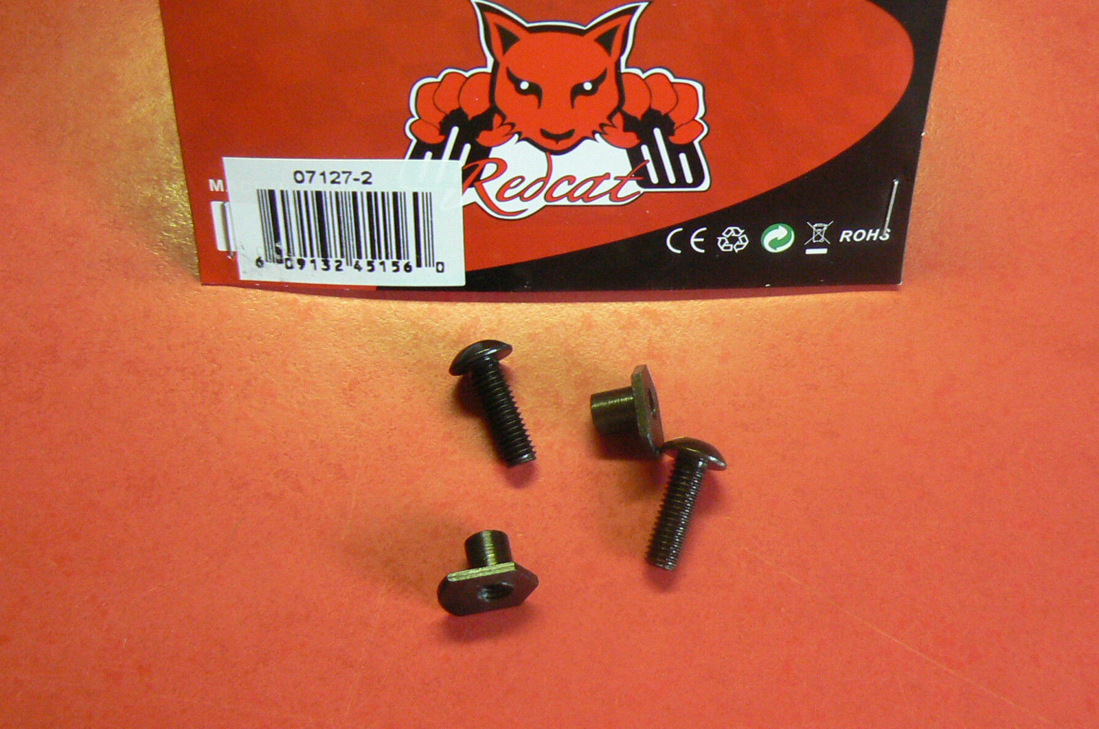 REDCAT RAMPAGE XT XB THREADED BUSHING AND SCREW FOR 07127 NEW 07127-2