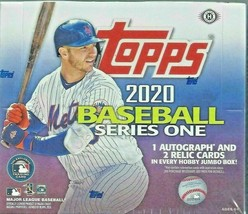 2020 Topps Series 1 Jumbo Hobby Hobby Box 2 silver packs - $170.00