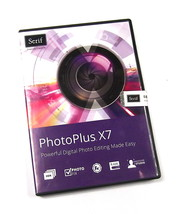 Brand New Serif PhotoPlus X7 Photo Editiing Sof... - $35.88