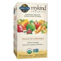 Garden Of Life mykind Organics Vitamin D3 - mykind Vegan Chewables 30 Ct... - $17.10