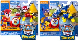 Paw Patrol Super Pups: Marshall and Chase Figures Bundle (2 items) - $23.99