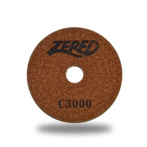 "ZERED 5"" Premium Diamond Polishing Pad for Granite Marble grit 3000 - $14.80"