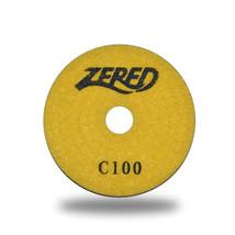 "ZERED 5""Premium Diamond Polishing Pad for Granite Marble grit 100 - $14.80"