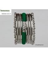 Enliven Green Thread Kada 2.8  2.10  2.12 Indian Bangles Emerald India M... - $14.99