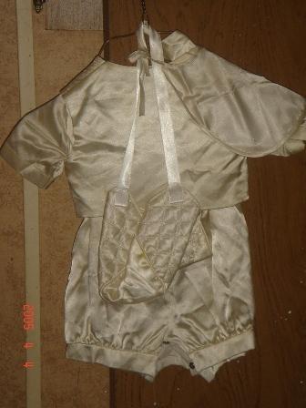 Infant Boy Baptism Outfit