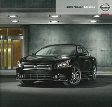 2010 Nissan MAXIMA sales brochure catalog US 10 3.5 S SV 4DSC - $8.00