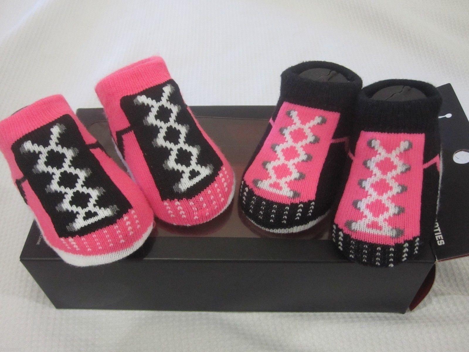 nib nike air pink baby newborn booties shoes