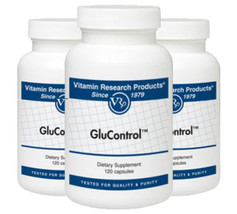 GluControl - 120 capsules by Vitamin Research Products - $36.51+