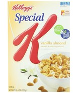 Kellogg's Special K Cereal, Vanilla Almond, 12.4 Ounce (Pack of 4) - $28.21