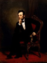 Abraham Lincoln by Geroge Healy -  Cards and Small Prints - $8.15+
