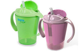 Summer Infant 2 Pack Born Free Grow With Me Child Straw Training Cup - K247 - $26.99