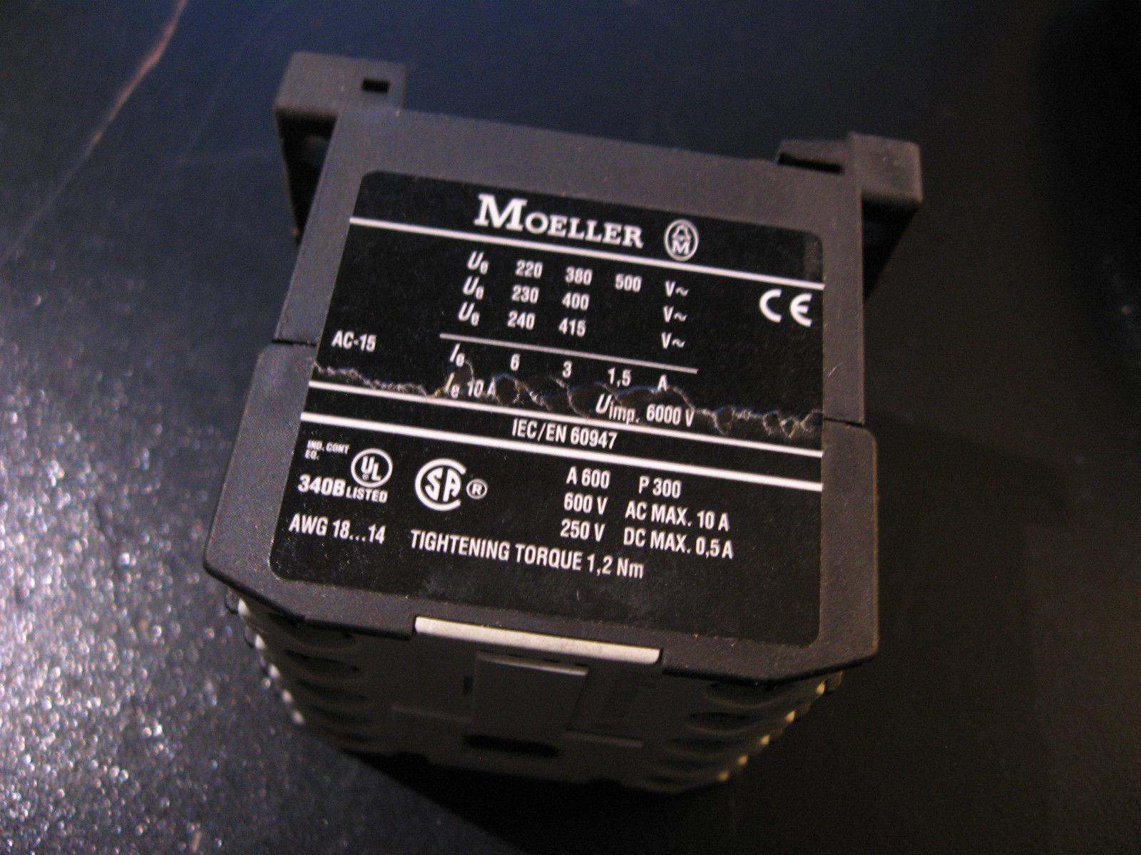 4KW 24Vac MOELLER-dilem-10 24VAC-CONTATTORE
