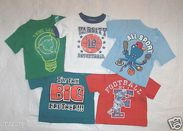 Infant Boys Childrens Place TShirt Football Big Brother Sport Size 6-9M NWT - $7.99