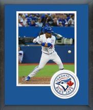 Devon Travis 2016 Toronto Blue Jays - 11x14 Team Logo Matted/Framed Photo - $42.95