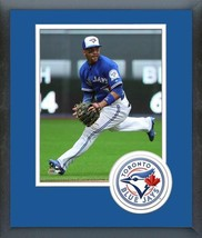 Devon Travis 2016 Toronto Blue Jays - 11x14 Team Logo Matted/Framed Photo - $42.95