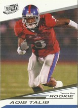 2008 Press Pass SE Gold #4 Aqib Talib  - $0.75