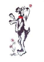 Schnauzer dog art print - $14.99