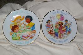 Vintage Avon Mother's Day Plates 1993 & 1994 Great Gift - $9.99