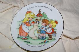 Vintage Avon School is a New Beginning Plate 1986 - $5.99