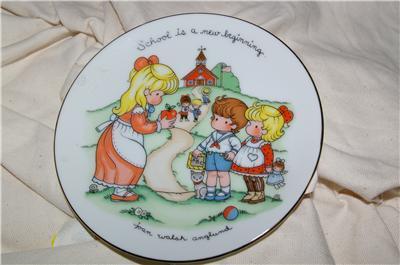 Vintage Avon School is a New Beginning Plate 1986
