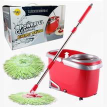 Woodsam Magic Spin Mop Bucket Set 360 Rotation ... - $48.03