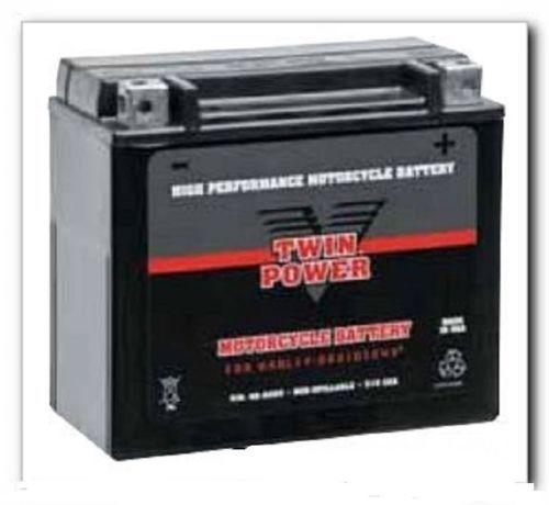 New Bikers Choice Twin Power AGM Battery 79-96 XL YTX20-BS, YB16-B