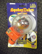 Maui Toys Orange Spokey Dokes LED Bike Light #79011 UPC:037423790119 - $10.89