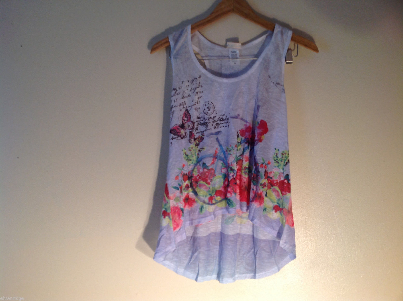 NEW Womens Sunshirt Light Lavender Tank Top Size XL Made in USA