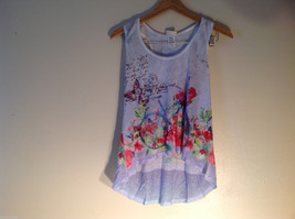 NEW Womens Sunshirt Light Lavender Tank Top Size XL Made in USA image 1