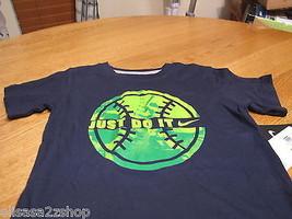 Boys youth Nike T shirt baseball logo navy Obsidian NEW TEE 2 toddler ju... - $14.42