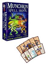 Munchkin Spell Skool Card Game 3-4 Players 10yrs+ New in Box - $13.88
