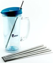 4 Pack Cocostraw for Bubba Envy 32 & 48 oz Big Tumbler PerfectFIT 18/8 S... - $8.72