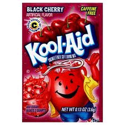 Kool-Aid Drink Mix Black Cherry 10 count