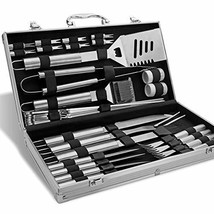 BBQ Tools Set - 26 Kit Stainless Steel BBQ Grill Tool Accessories Set in... - $37.20