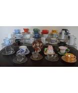 30 Demitasse Cups & Saucers * Lot 4 - $153.45