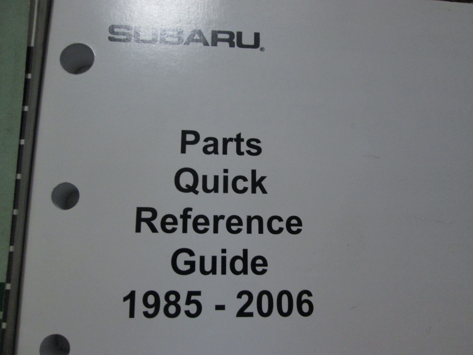 2003 Subaru Forester Service Repair Shop Manual Incomplete Set Factory OEM Books