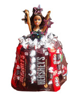 Edible Fashion Doll Chocolate Candy Dress with free shipping - $45.99