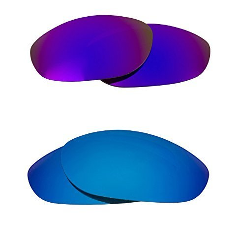 New SEEK OPTICS Replacement Lenses Oakley MONSTER DOG - Purple Blue