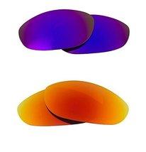 New Seek Optics Replacement Lenses Oakley Monster Dog   Purple Red - $24.24