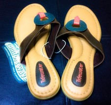 7 FOOTBED amp; BROWN A WITH SANDALS COLOR ARCH SIZE TIDEWATER SUPPORT CUSHIONED IXw4RWq