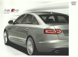 2009 Audi A6 S6 sales brochure catalog US 09 3.0T 3.2 4.2 5.2 - $10.00
