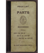 Singer Sewing Machine Price List of Parts (1903) catalog vintage - $50.00