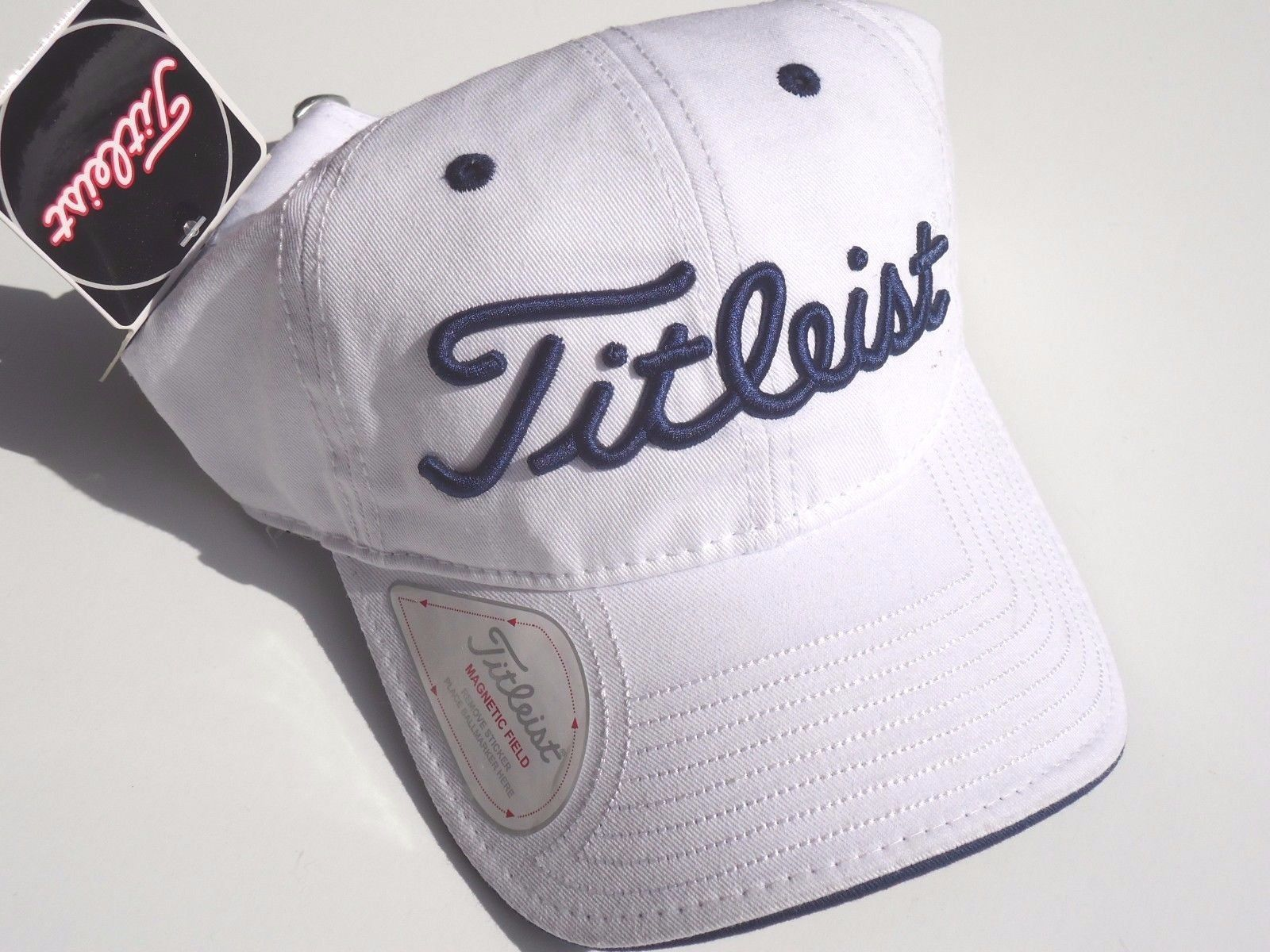 NEW! White Navy Blue Titleist Men-Women s and 50 similar items 11e86a341563