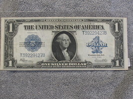 1923 $1  LARGE SILVER CERTIFICATE - DECENT SPECIMAN-FREE SHIPPING.... - $157.41