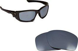 New Seek Optics Replacement Lenses Oakley Scalpel   Polarized Black Iridium - $19.29
