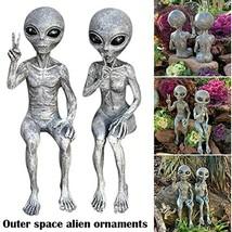 Terminator Alien Vs Predator Resin Figurine Art Outdoor Garden Statue Fi... - $14.84+