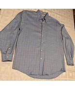 Joseph Abboud Men's Dress Long Sleeve Button Down Shirt 100% Cotton Size M - $15.59