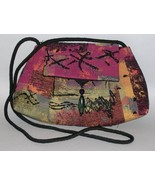 Pagoda Multi Color Purse Handcrafted Tapestry S... - $115.00