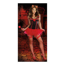 Red Witch Garment Sexy Underwear Lingerie Game Uniform - $45.99